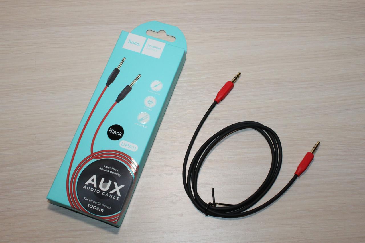 Аудио кабель AUX HOCO UPA11 Black