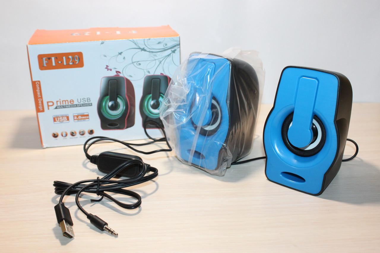 Колонки 2.0 FT-129 USB