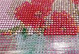Алмазная картина-раскраска по номерам Дачный букет, 40х50 Rainbow Art (GZS1103), фото 9