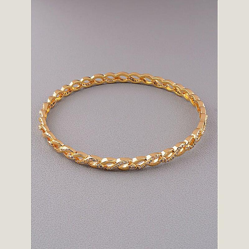 Браслет на руку на руку ювелирная бижутерия позолота с фианитами медицинское золото Xuping Jewelry  Jewelry