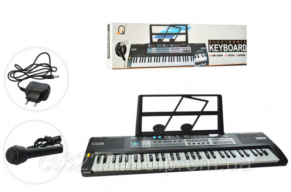 Детское пианино синтезатор на 61 клавишу MQ6180