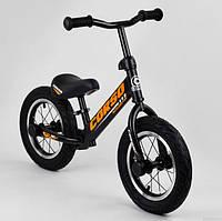 Беговел детский на 2 3 4 года Corso 69280 колеса 12 надувные