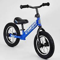 Беговел детский на 2 3 4 года Corso 55408 колеса 12 надувные