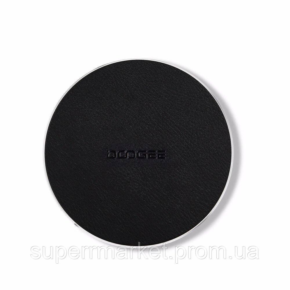 Беспроводное зарядное Doogee C2 10W black leather