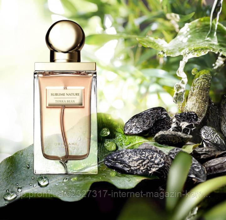 Женская парфюмерная вода Sublime Nature Tonka Bean Сэблайм Нэйче Тонка Бин Oriflame Орифлейм 50 мл