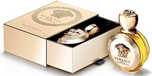 Женская парфюмированная вода Versace Eros Pour Femme (Версаче Эрос Пур Фэм) 100мл