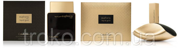 Liquid Gold Euphoria от Calvin Klein для женщин