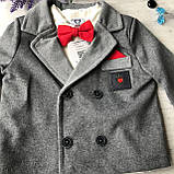Детский нарядный костюм на мальчика 701. Размер 74 см, 80 см, 86 см, 92 см, фото 2