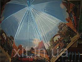 Детский зонт трость Молния Маквин. Зонтик для мальчика. Зонт с машинами. Детский зонтик для мальчика. Зонтик