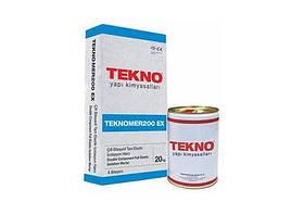 Гидроизоляционная смесь Teknomer 200 EX (Комплект 20 кг. + 10 л.)