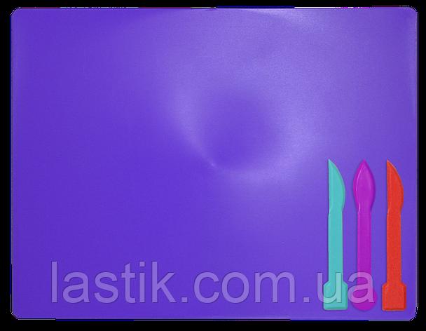 /Доска для пластилина 3 стека фиолетовый KIDS Line, фото 2