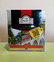 Чай Ahmad Tea English Breakfast 100 пакетиков черный, фото 1