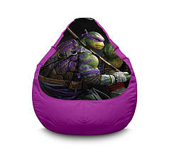 """Кресло мешок """"Ninja Turtles. Donatello"""" Оксфорд"""