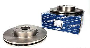 Гальмівний диск передній (300х28мм) Mersedes Vito 639 2003 - т колодок гальмівних передніх (Німеччина) 015 521 2059