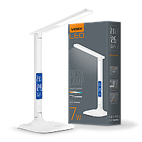 /Лампа настольная LED c индикацией VLTF05W 7W 30005500K 220V VIDEX