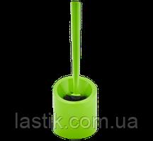 /Ершик для унитаза с подставкой  напольный Аква салатовый