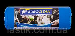 /Пакеты для мусора 240л/10 шт крепкие синие 900х1300мм 35мкм  BuroClean EuroStandart