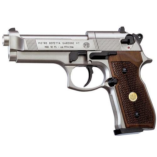 Пневматический пистолет Beretta 92 FS PPC с деревянной рукояткой