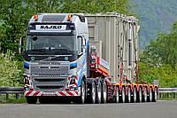 Представлены новые модульные платформы Scheuerle для перевозки сверхтяжелых грузов