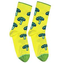 """Шкарпетки Дід Носкарь чоловічі 41-45 """"Йод і зеленка"""" жовті"""