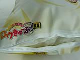 Подушка обнимашка  Дакимакура 150 х 50 Мисава Махо для обнимания аниме ростовая двухсторонняя для обнимания, фото 6
