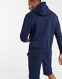 Чоловіча спортивна кофта кенгуру, толстовка Venum (Венум) синя, фото 2