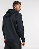 Чоловіча спортивна кофта кенгуру, толстовка UFC (Юфс) чорна, фото 2