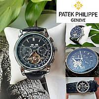 Швейцарские наручные часы Patek Philippe Geneve Tourbillon. Мужские механические с автоподзаводом.