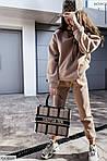 Женский теплый спортивный костюм с кофтой, фото 3
