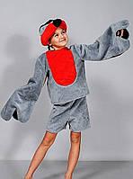 Карнавальный костюм Снегирь мех