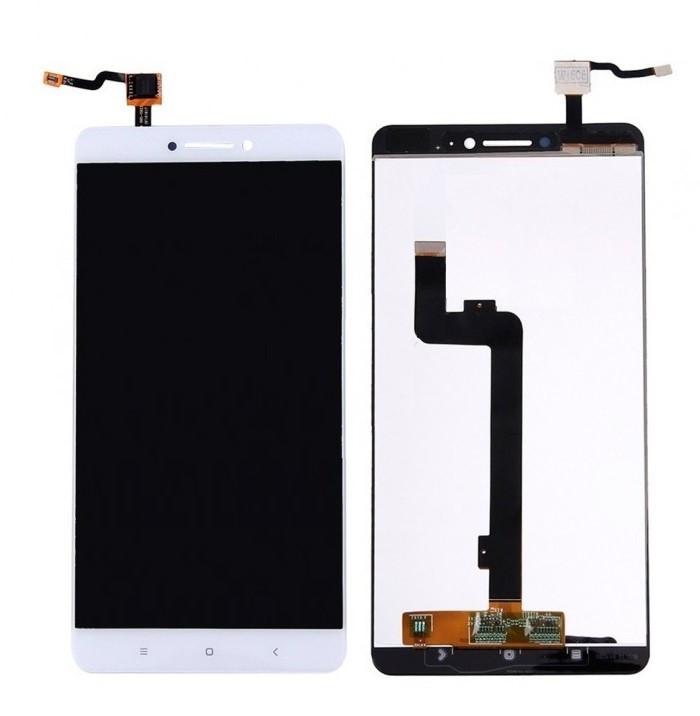 Дисплей для Xiaomi Mi Max 2 с сенсорным стеклом (Белый) Оригинал Китай