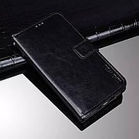 Чехол Idewei для Realme 6 Pro книжка кожа PU черный, фото 1