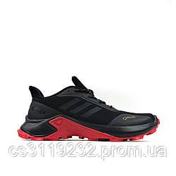Мужские кроссовки Adidas Terrex GTX Black  (черные)
