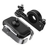 Мото-вело тримач для телефону Baseus Armor Motorcycle holder Black, фото 5