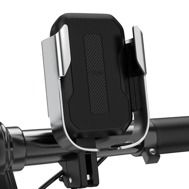 Мото-вело тримач для телефону Baseus Armor Motorcycle holder Black