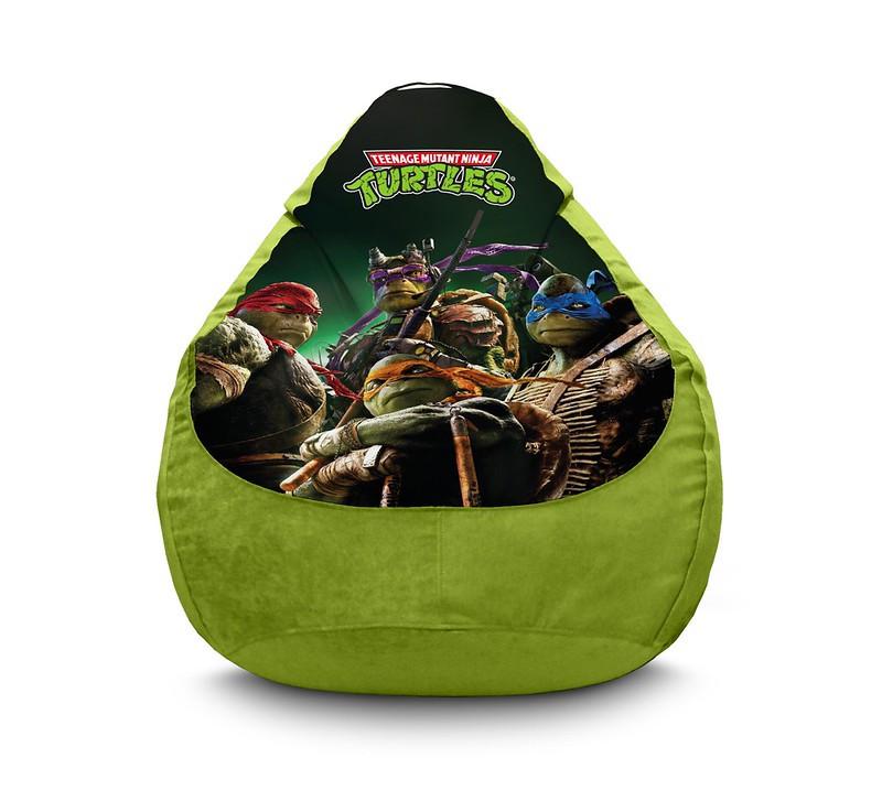 "Кресло мешок ""Ninja Turtles. Modern"" Флок"