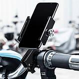 Мото-вело тримач Baseus Knight Motorcycle holder Black, фото 4