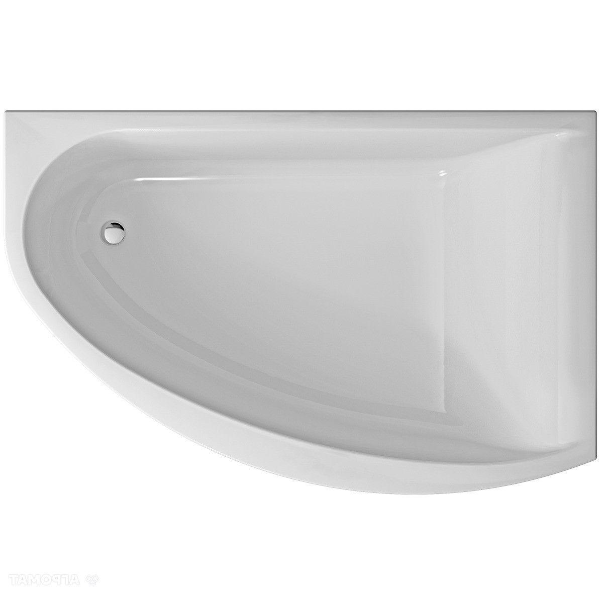 Ванна KOLO MIRRA 170x110 см асимметричная правая, с ножками SN8 и элементами крепления