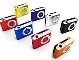 MP3-плеєр у стилі Ipod металевий Slim + навушники в комплекті, фото 3