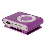 MP3-плеєр у стилі Ipod металевий Slim + навушники в комплекті, фото 4