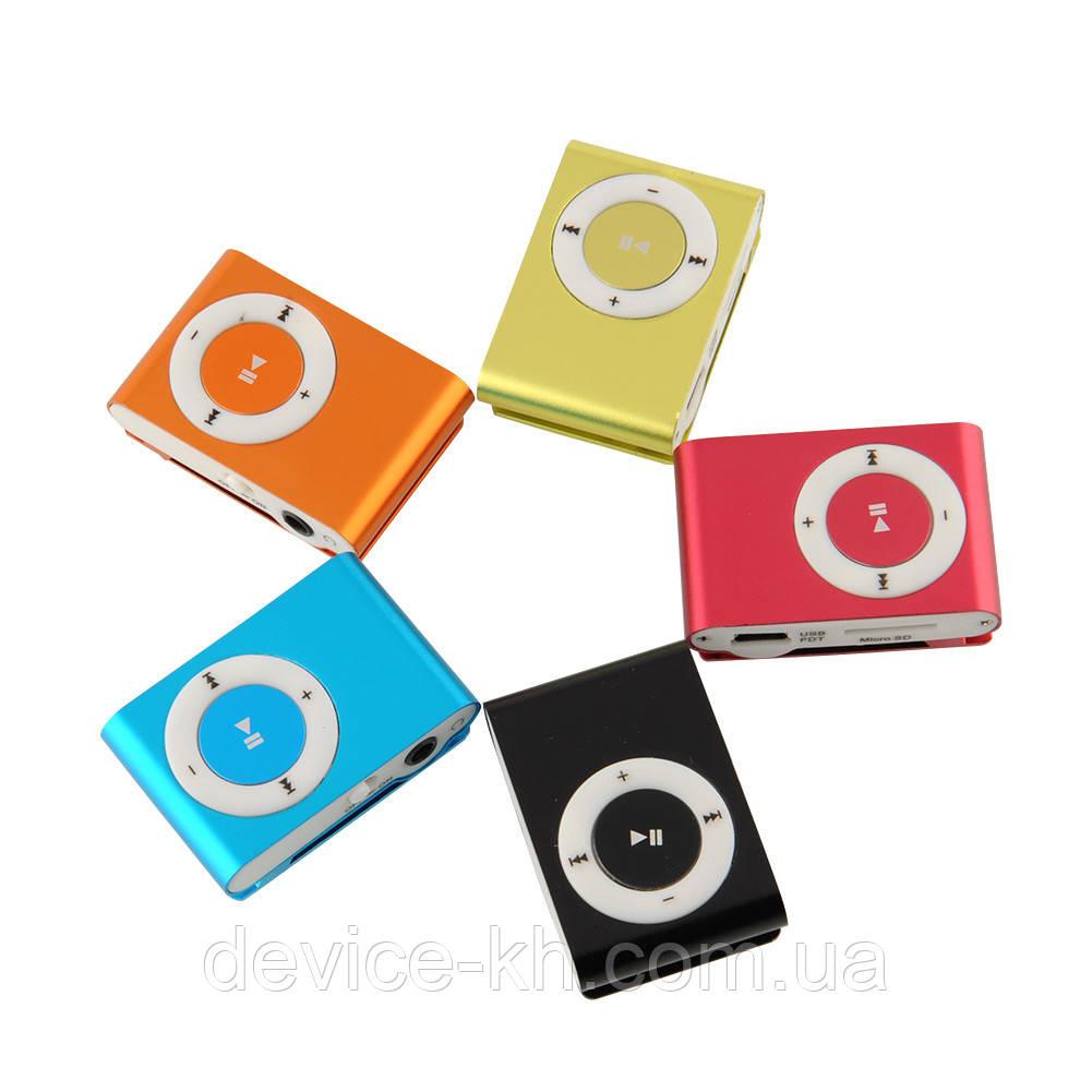 MP3-плеєр у стилі Ipod металевий Slim + навушники в комплекті