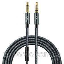 AUX-кабель НОСО UPA04 Noble Sound (with Mic) 1m Tarnish