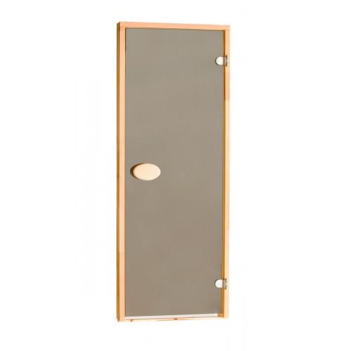 Дверь для бани и сауны ПАЛ 80х210 bronze