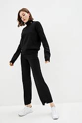 Вязаный костюм в спортивном стиле. Размер 42-44, 46-48. Цвет черный