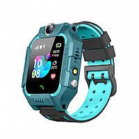 Дитячий годинник Smart Baby watch Z6 SIM + GPS Mint