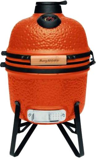 Керамический гриль печь для барбекю с решеткой из стали 27 см оранжевого цвета BergHOFF Studio (2415705)