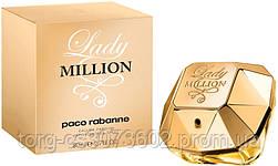 Paco Rabanne Lady Million, женская парфюмированная вода, 80 мл.