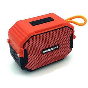 Портативная Bluetooth колонка Hopestar T8 IPX6, Оранжевая, фото 2