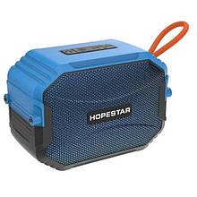 Портативная Bluetooth колонка Hopestar T8 IPX6, Синяя