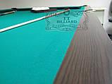 Бильярдный стол для пула ОСКАР 6 футов ЛДСП 1.8 м х 0.9 м из натурального дерева, фото 6